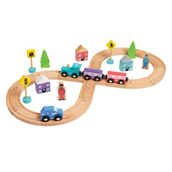 Cheapest Wooden Train Set - Uk Deals