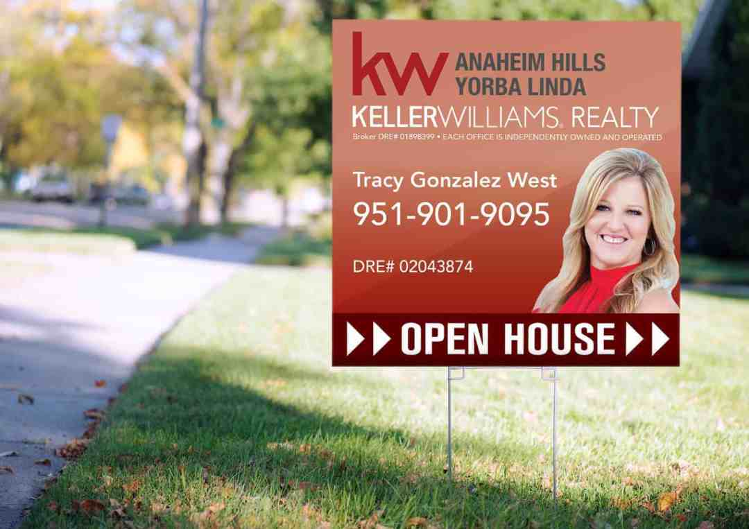 Real Estate Open House Signs