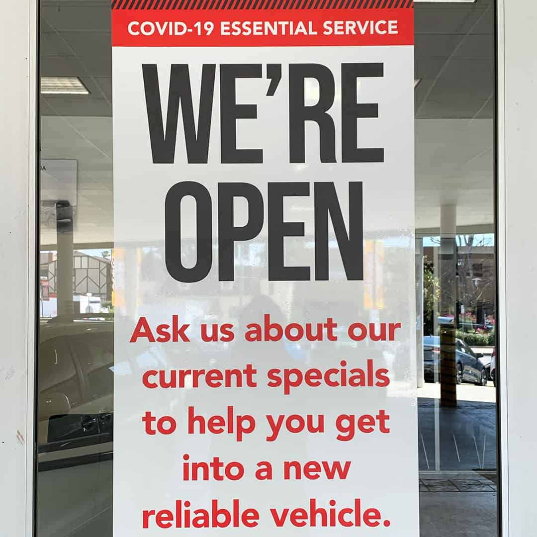 COVID-19 Dealership Marketing