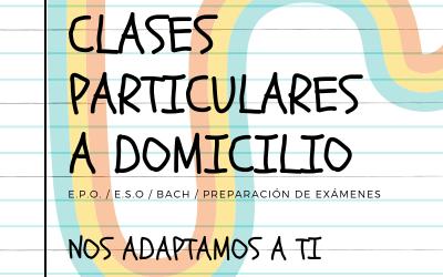 🤓 CLASES PARTICULARES A DOMICILIO