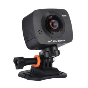 AMKOV AMK200S Mini Cameras dual lens 360