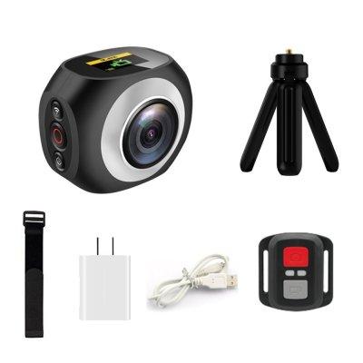 360 Degree VR Camera, Banne Wifi UHD 2.7K/25FPS, 1080P/30FPS