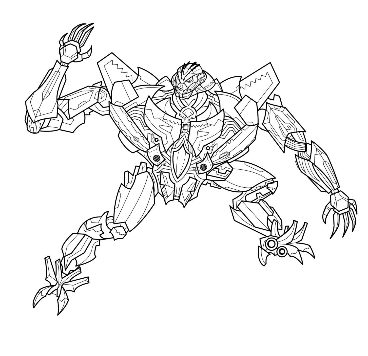 Online Coloring Book Transformers