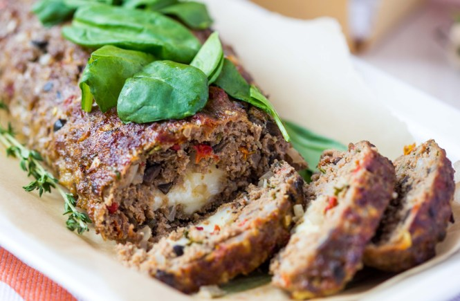 RECIPE-Mediterranean-Stuffed-Turkey-Meatloaf-Bellevue-Washington