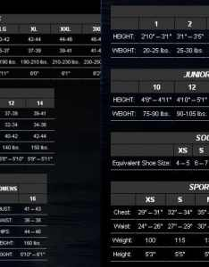 Neosport size chart also wetsuit charts for all known brands guide rh guidefo