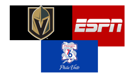 Golden Knights 76ers ESPN CX