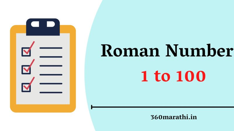 Roman Numbers 1 to 100   Roman Numbers 1 to 100 PDF Download    Roman Numerals Charts