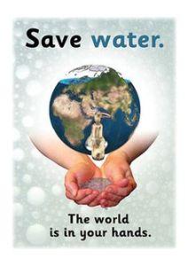 Save Water Drawing Sketch 14 -