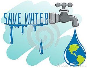 Save Water Drawing Sketch 16 -