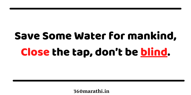 Save Water Quotes images 8