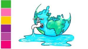 save water drawing 3 1 -
