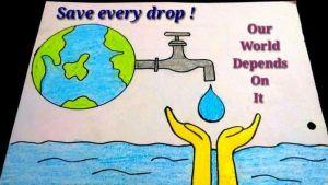 save water drawings -