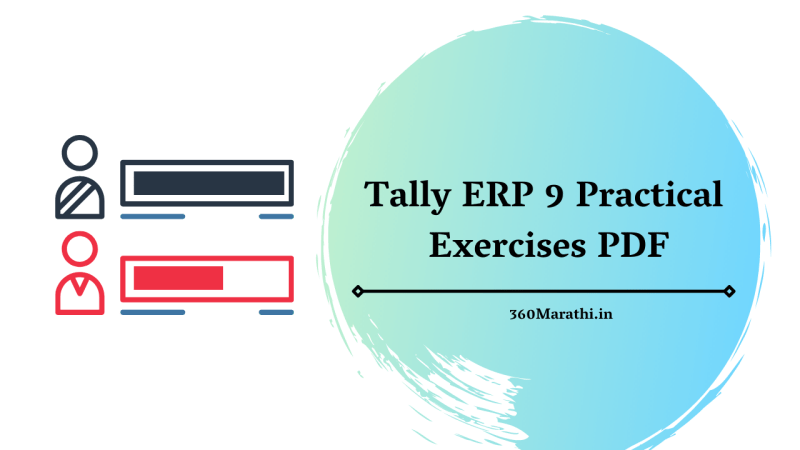Tally ERP 9 Practical Exercises PDF [ Questions & Answers ]