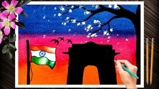 Kargil Vijay Diwas Posters Drawing 8 -