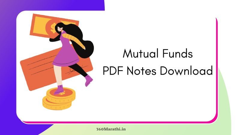 ( 10+) Mutual Funds PDF Notes