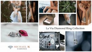 Diamond Ring La Via Collection by Michael K Diamonds