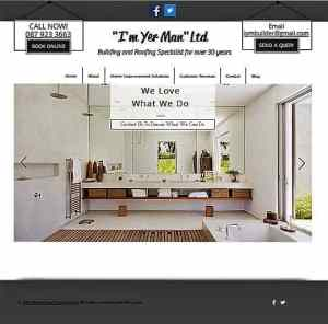 Website Development Home Page I'm Yer Man