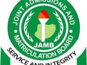Jamb 2020 registration details questions and answers Joint Admission