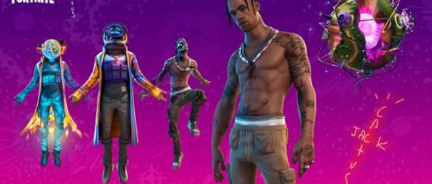 Download Travis Scott and Fortnite Present Astronomical Full Event Video Download