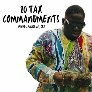 Michel Valbrun – 10 Tax Commandments
