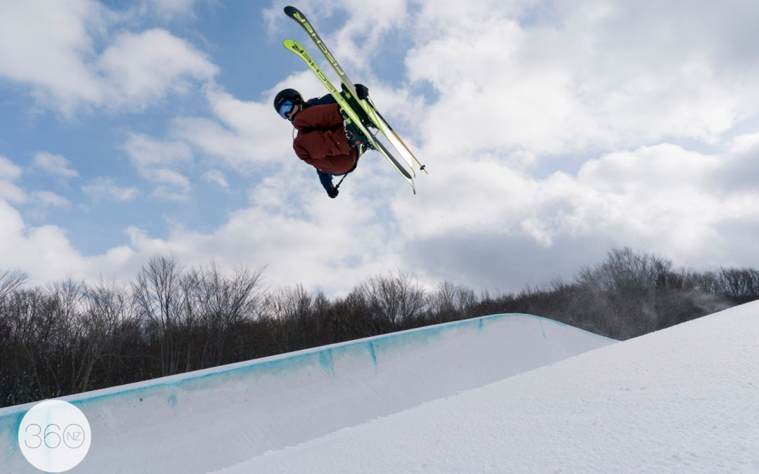 Shooting with the USA Olympic Halfpipe Ski Team