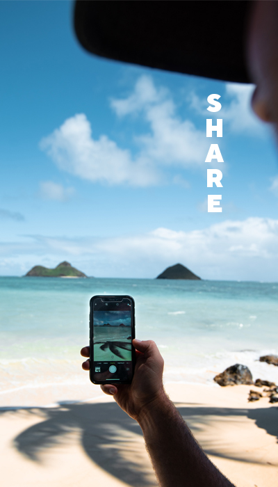 Share travel experiences