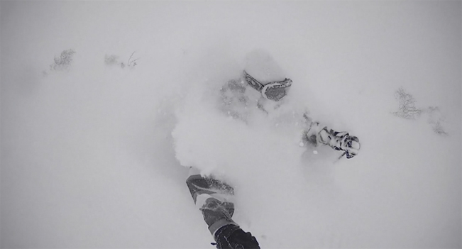 Deep screen shot from Nippon shot by the Larsson brothers in Niseko, Jan 2013