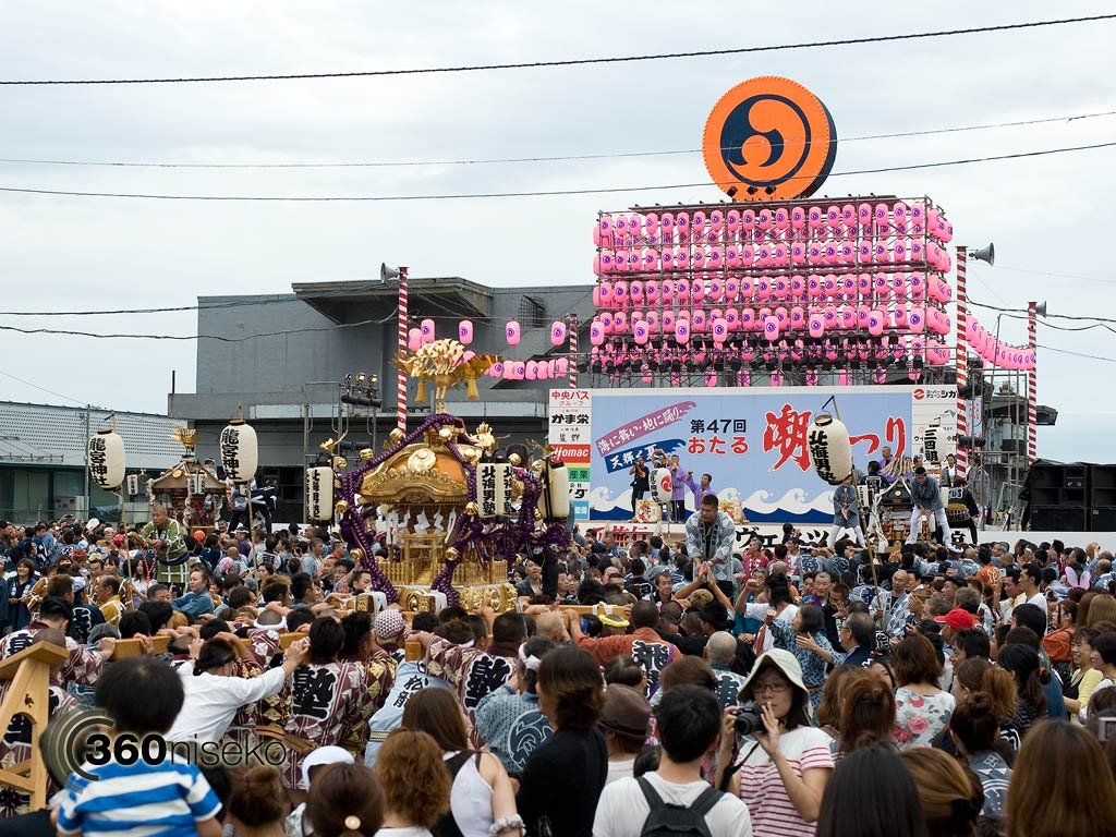 Otaru Ushio Festival - main stage, 28 July 2013