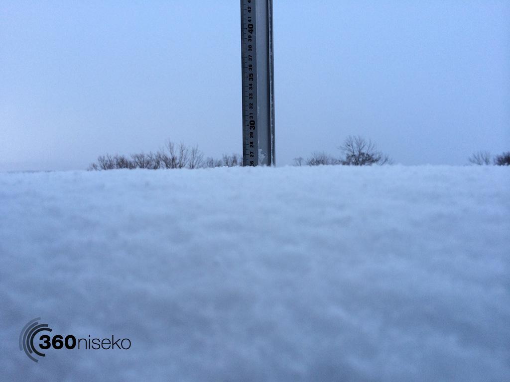 Snowfall in Hirafu Village, 7 March 2014