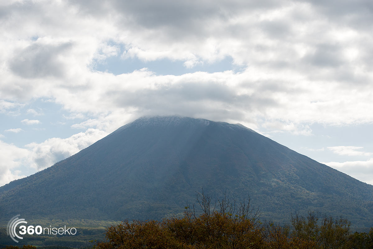 Mt.Yotei with some white stuff on top! 1 October 2014