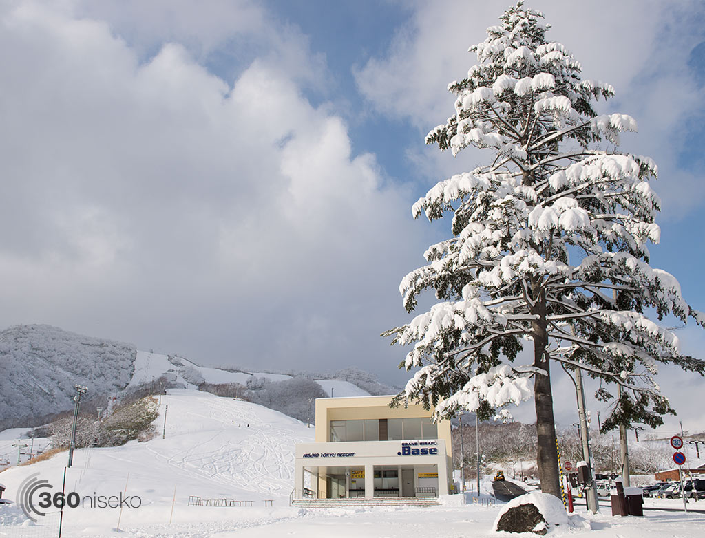 Grand Hirafu looking good, 4 December 2014