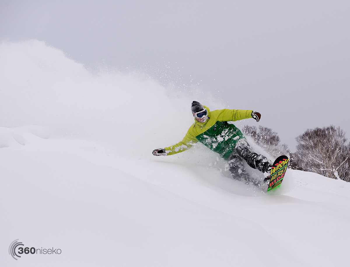Sam Kerr from Niseko Xtreme Tours, 13 December 2014