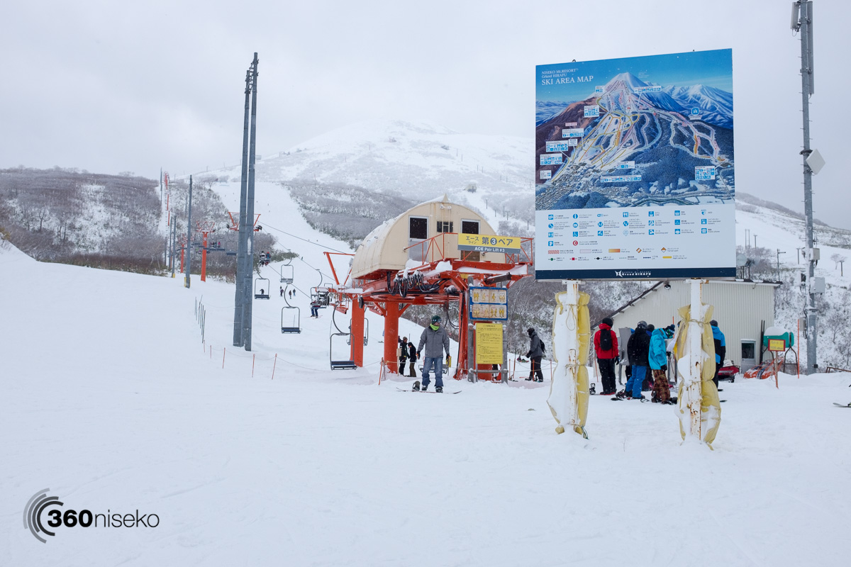 A new ski area map and Center course fun