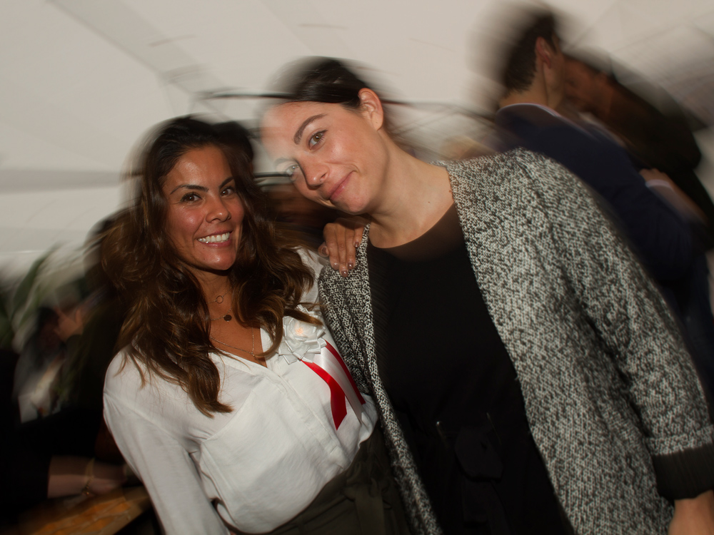 Pavilions Head of Property Development & Sales Emilia and Marketing Manager Cecile .