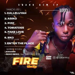 Mikky J – Fire (EP)