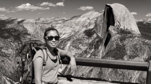 Lupita at Glacier Point