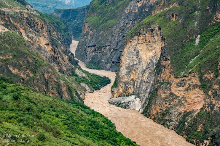 Middle Gorge Looking into Lower Tiger Leaping Gorge