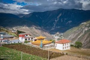 Feilai Monastery From above (Feilaisi — Gateway to Yubeng Village)