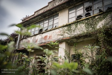 Deserted building