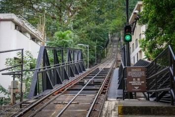 The Peak Tram - Tracks