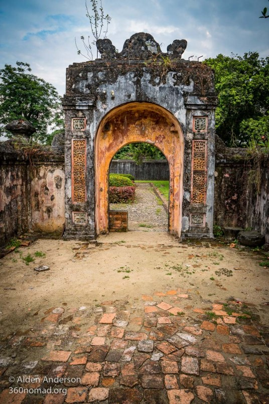 Ancient Gate in the Imperial City
