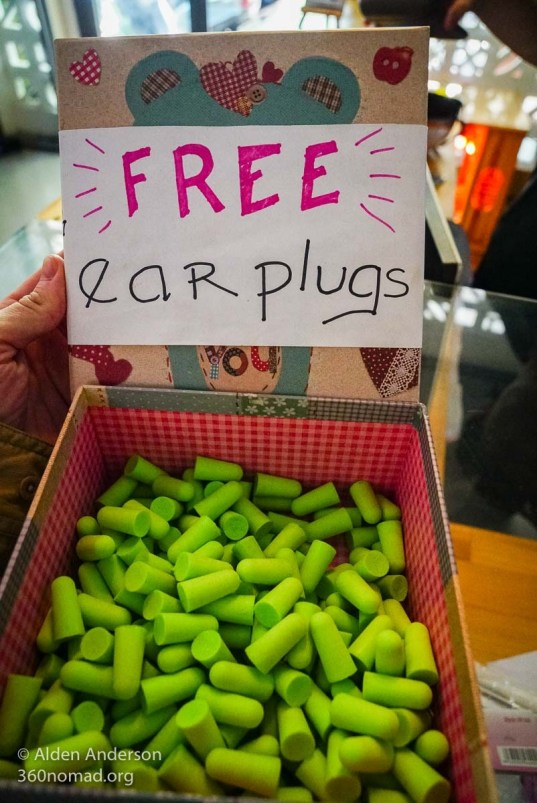 Free Earplugs - Ominous