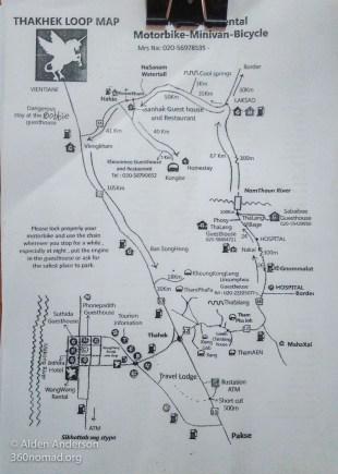 Thakhek Loop Map 02