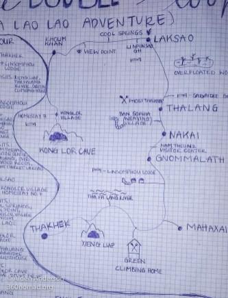 Thakhek Loop Map 04