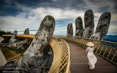 Vietnam's Golden Bridge — The Hands ofGod