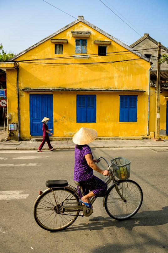 Early morning walk in Hoi An