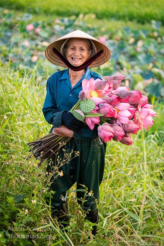 Ba Lotus Hoi An Vietnam