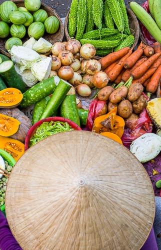 Colors of the Market, Hoi An, Vietnam