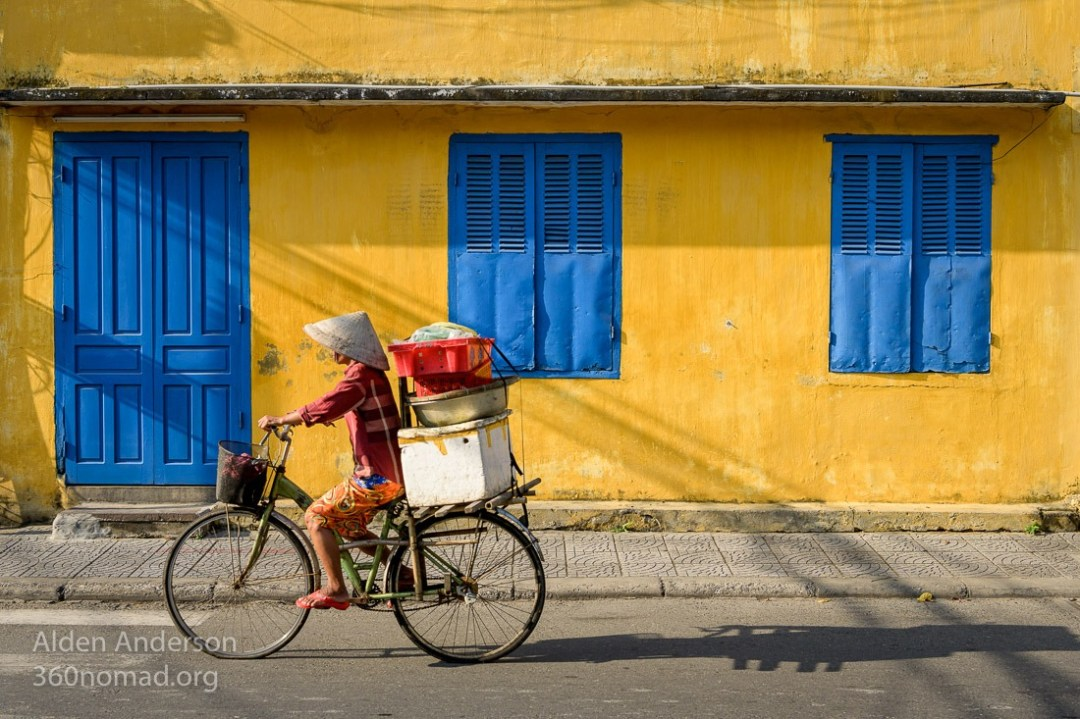 Hoi An Morning Yellow Blue