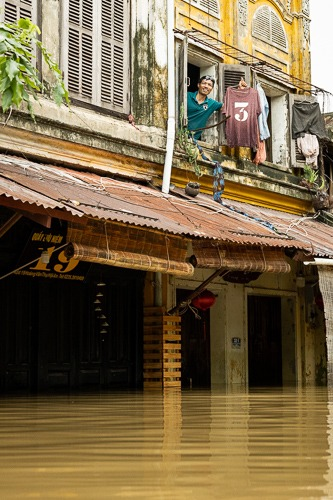 Tuan, Hoi An Flood